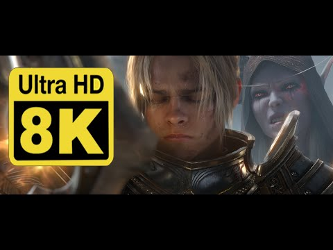 World of Warcraft: Battle for Azeroth Cinematic Trailer 8k (upscale with Machine Learning AI)