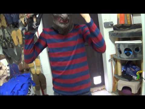Présentation de mes costumes d'horreurs
