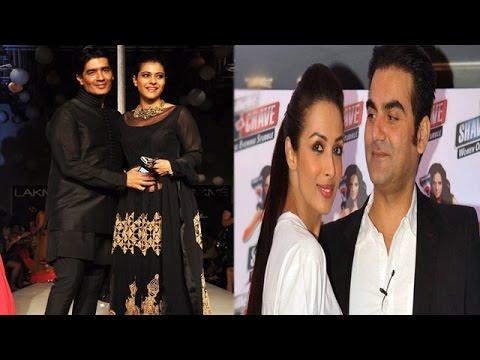Kajol Keeps Her Date With Manish Malhotra| Arbaaz'