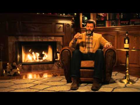 Lagavulin s Latest Ad is Nick Offerman Staring Into The