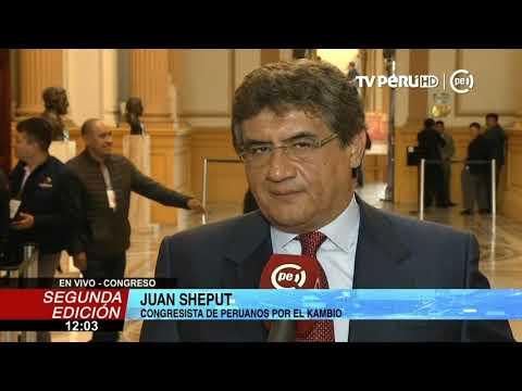 """Download Juan Sheput: """"Sí, cambié mi voto tras explicación de Oracio Pacori"""" hd file 3gp hd mp4 download videos"""