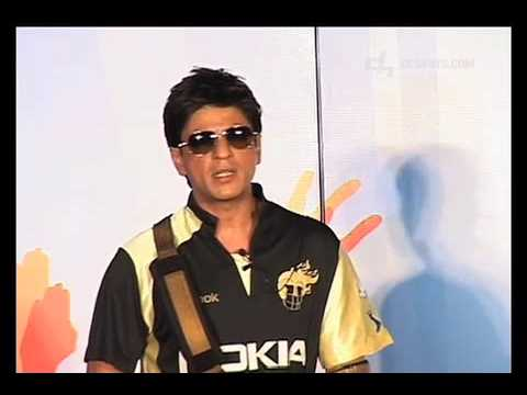 kolkota knight riders - Bollywood superstar, Shahrukh Khan announces an new initiative for Kolkota Knight Riders and Nokia http://www.desihits.com.