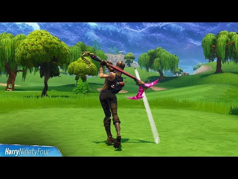 Fortnite Battle Royale - Hit a Golf Ball From Tee to Green Challenge Guide (Golf Hole Locations)