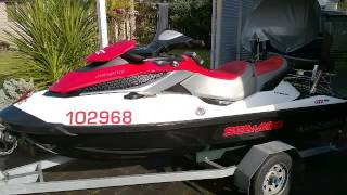 3. Seadoo GTX 155 First Ride
