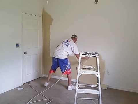 Błyskawiczne malowanie pokoju w niecałe 9 minut