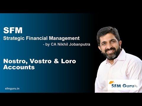 Nostro, Vostro & Loro Accounts | CA Final SFM (New Syllabus) Classes & Video Lectures