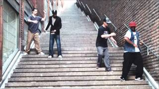 Slim Boogie, Mr. Steen, Future, Rashaad – Staircase Robots in Stockholm