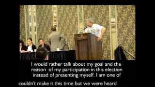 Iranian-Canadian Congress - AGM - Election 2013مجمع عمومی سالانه کنگره ایرانیان