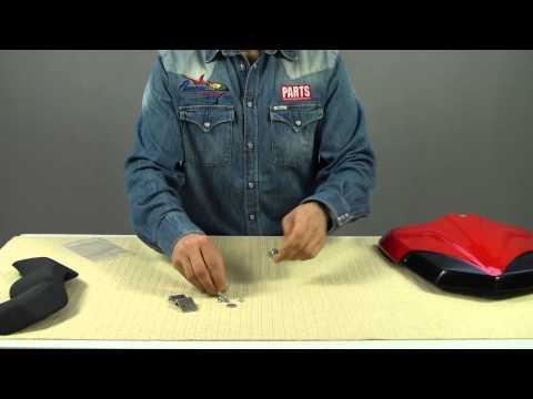 Descrizione e montaggio Coperchio sella Ducati Multistrada 1200 coprisella coprisellino saddle cover