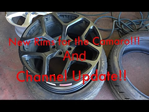 BEST RIMS FOR A 5TH GEN CAMARO!!! and Channel Update!