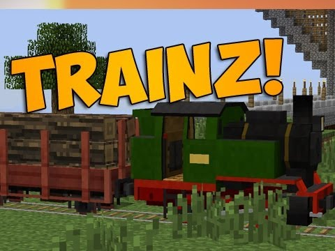 MINECRAFT TRAINS MOD | EPISODE 795