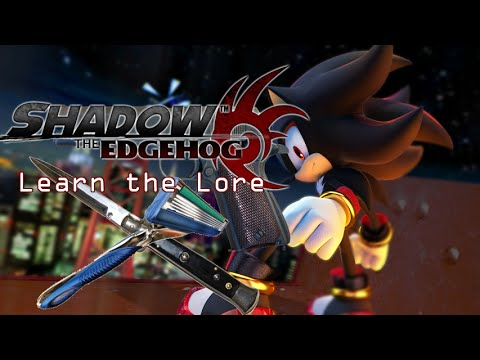 Shadow the Edgehog Edgy Moments | Learn the Lore (видео)