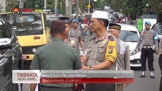 AKSI TEROR DI SUMUT, KAPOLDA BANGKA BELITUNG MINTA MASYARAKAT TENANG #TRIBRATA NEWS