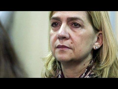 Ισπανία: Απορρίφθηκε αίτημα της πριγκίπισσας Κριστίνα να απαλλαγεί από τις κατηγορίες