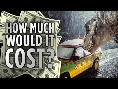 How Much Would it Cost to Build Jurassic Park