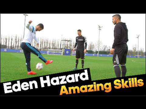 eden hazard - skills incredibili con f2freestylers!