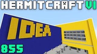 Hermitcraft VI 855 Building The IDEA Store