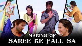 Saree Ke Fall Sa - Making Of The Song - R...Rajkumar