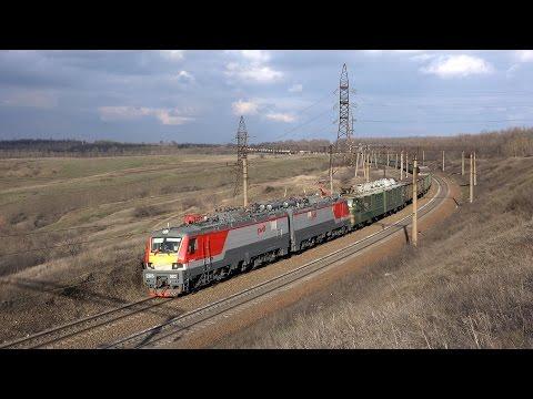 Новый российский железнодорожный монстр
