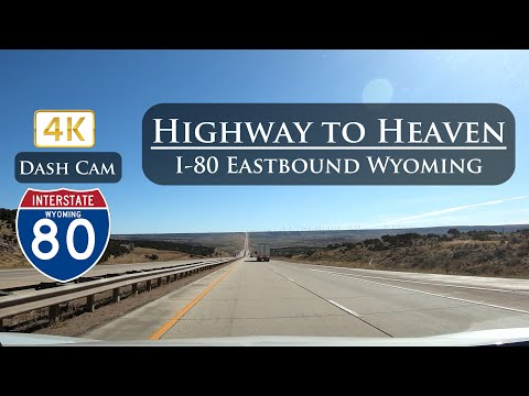 I-80 Ultra 4K Eastbound Echo, UT To Little America, WY (Highway to Heaven) Dash Cam
