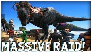 ARK: Survival Evolved - MASSIVE RAID! [35]