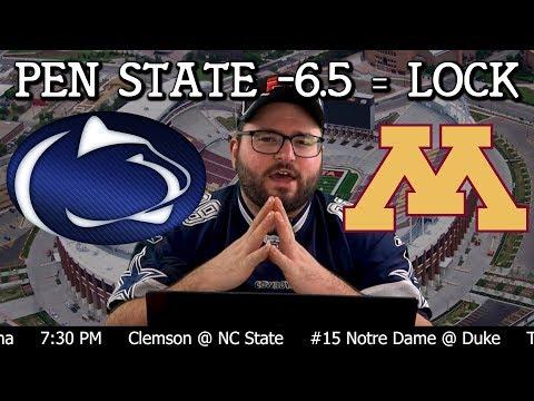 Penn State vs Minnesota College Football Bets - Minnesota Penn State NCAA Betting