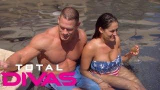 Take a tour of John Cena's house: Total Divas, Aug. 4, 2013
