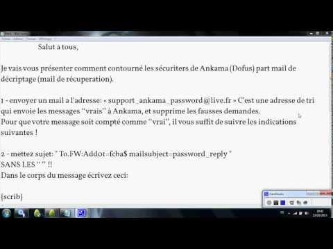 comment hacker un compte dofus 2.0 sans logiciel