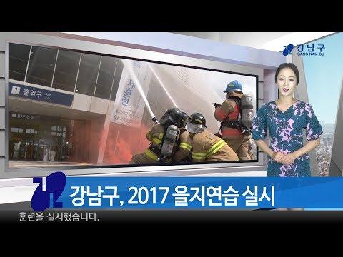 2017년 8월 넷째주 강남구 종합뉴스