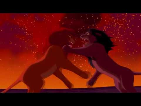 THE LION KING 1994 SIMBA VS SCAR HD