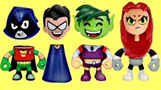 Video Teen Titans Go! Toy Surprises With Robin, Raven, Starfire, Cyborg & Beast Boy MP3, 3GP, MP4, WEBM, AVI, FLV November 2018