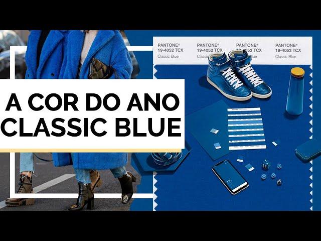 PANTONE 2020 AZUL | CLASSIC BLUE - Closet da Mari