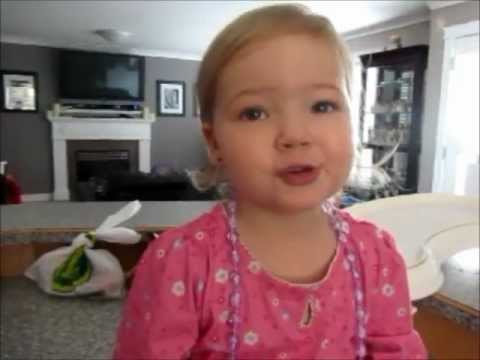 2 Year Old Makena Sings Adele