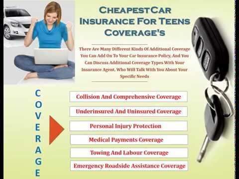 Guide To Car Insurance For Teens And Safety Tips To Save Money On Premium