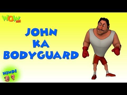 Video John Ka Bodyguard - Motu Patlu in Hindi - 3D Animation Cartoon for Kids -As on Nickelodeon download in MP3, 3GP, MP4, WEBM, AVI, FLV January 2017