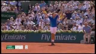 Stanislas Wawrinka despachó al número 1 del mundo, Andy Murray, el juego con duración de 4 horas y 34 minutos se definió en cinco sets, por parciales de 6-7 (6/8), 6-3, 5-7, 7-6 (7/3) y 6-1.http://www.notigape.com/contenido/136521