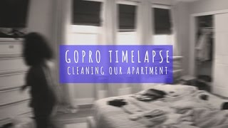 Go Pro Time-lapse: Cleaning our Apartment