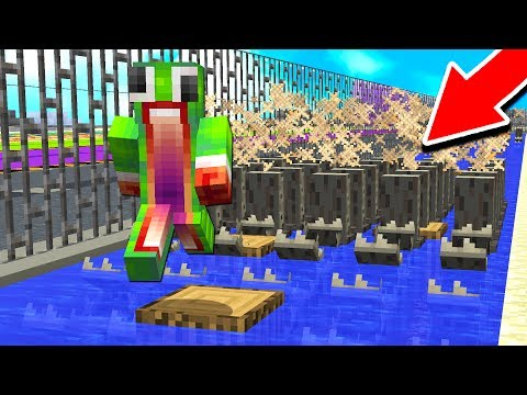 IF YOU STOP RUNNING YOU WILL DIE! (Minecraft DEATH RUN) (видео)
