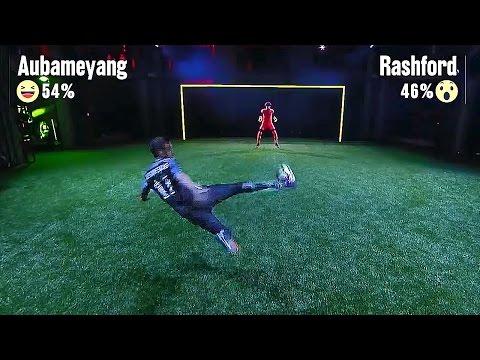 Download Aubameyang vs Rashford vs Oxlade-Chamberlaine vs Benteke vs Silva vs Icardi - Nike Strike Night