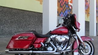 8. Used 2012 Harley Davidson Street Glide FLHX Motorcycle For Sale