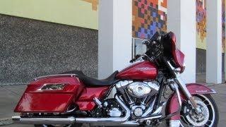 10. Used 2012 Harley Davidson Street Glide FLHX Motorcycle For Sale