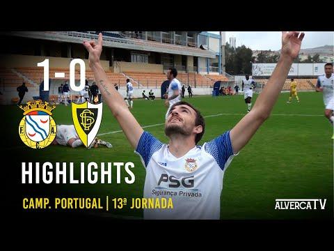 FC Alverca 1-0 GS Loures - Highlights