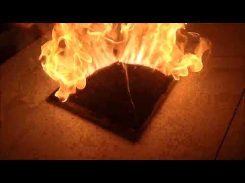 花10小時疊起來的火柴棒,10秒鐘燃燒居然驚見.......