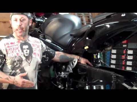 DIY Motorcycle Tips by Leo – Suzuki Hayabusa Swing Arm