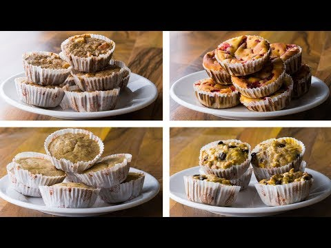 4 Healthy Muffin Recipes | Healthy Muffins For Weight Loss