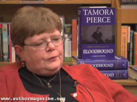 Vid�o de Tamora Pierce