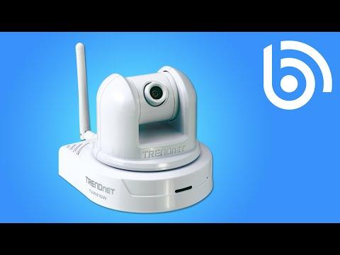 TRENDnet TV-IP410W SecurView Wireless Pan, Tilt & Zoom Network IP Camera