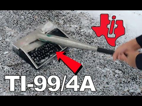 Bored Smashing - RARE COMPUTER?! TI-99/4A
