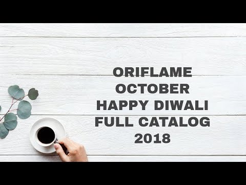 Oriflame October 2018 Full Catalog HD || Oriflame October 2018 Full Catalogue  HD
