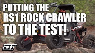 7. Testing out the RZR RS1 Rock Crawler